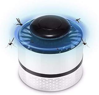 SZSMART Mosquito Killer, Lámpara Antimosquitos Electrico, Fotocatalizador, 360° LED Insectos Trampa Lámparade, Anti Mosquitos, 100% Segura Sin Radiación Sin Químicos (Blanco)