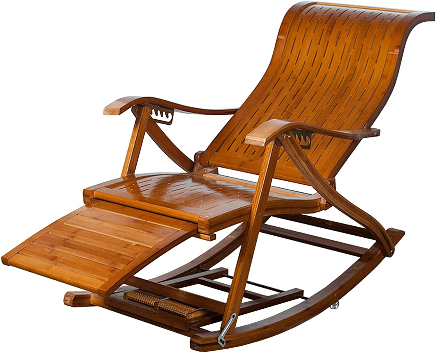 Garden Rocking Chairs for Adults Relax Bamboo Ch Outstanding 1 year warranty Lounge