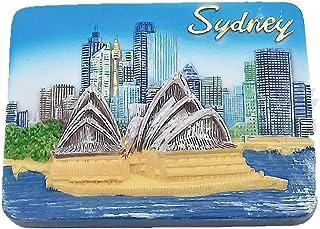 3D Sydney Opera House Australia Fridge Magnet Tourist Souvenir Gift,Home & Kitchen Decoration Magnetic sricker. Sydney Australia Refrigerator Magnet
