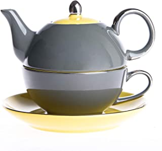 all in one teapot and cup