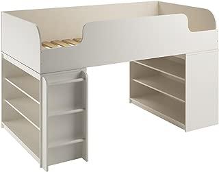 ameriwood twin storage bed 2 drawers