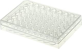 Nest Scientific 748011 Polystyrene 48 Well Cell Culture Plate, Flat Bottom, Non-Treated, Sterile, Clear, 1 per Pack, 50 per Case (Pack of 50)