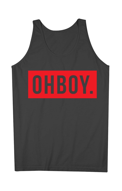 OHBOY 男性用 Tank Top Sleeveless Shirt