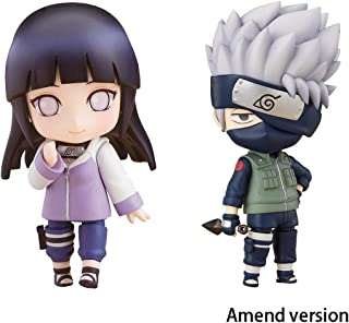 Lilongjiao Naruto Shippuden: Hinata Hyuga and Kakashi Hatake Nendoroid Action Figure Ninja Model Toys