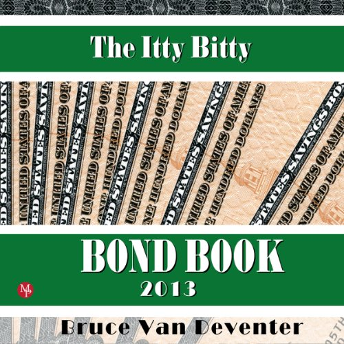 The Itty Bitty Bond Book audiobook cover art