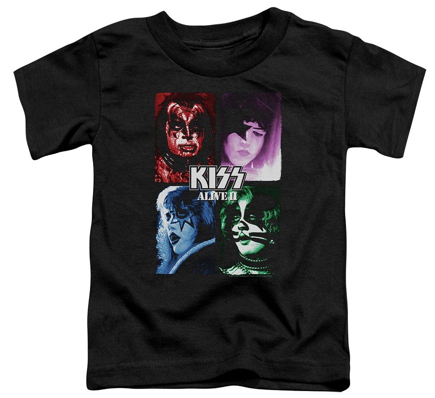 A&E Designs Kids KISS T-Shirt Alive II Cover Tee Shirt
