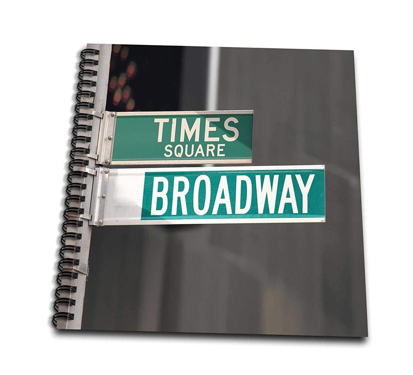 3dRose db_4393_2 Times Square Broadway-Memory Book, 12 by 12-Inch