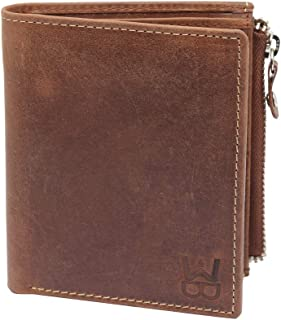 WELBAWT Brown Sleek and Stylish Leather Bi-Folded Men's Wallet