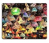 luxlady Gaming Mousepad imagen ID: 23333671Turco decorativa Lámparas de Colorful en Grand Bazaar Estambul