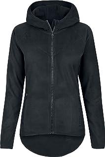 Urban Classics Polar Fleece Zip Hoodie Sweatshirt Capuche Femme