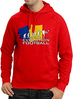 lepni.me N4514H Hoodie Evolution Football - Romania