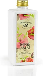 Pre de Provence Body Lotion to Soothe, Soften, and Hydrate with Shea Butter, Vitamin E, Olive Oil, Botanical Rose Blend Fr...