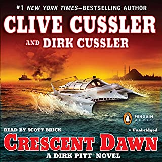 Crescent Dawn audiobook cover art