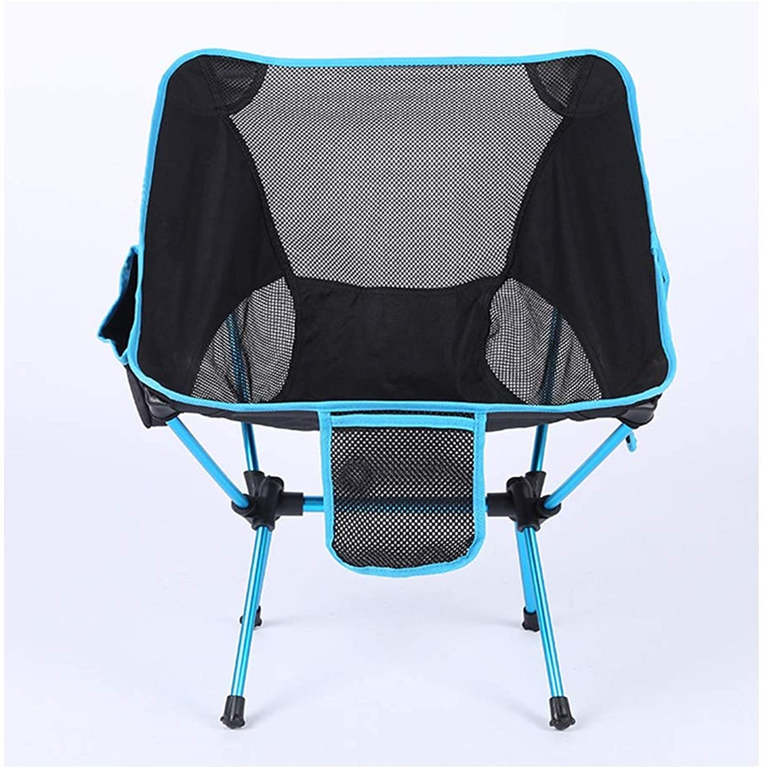 Folding Chair Outdoor Lightweight Portable Camping Picnic Beach Fishing Moon Stool Household Lounge Chairs