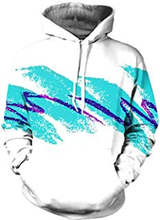 TUONROAD 3D Printed Graphic Hoodies Cool Realistic Pullover Athletic Hooded Sweatshirts for Men & Women