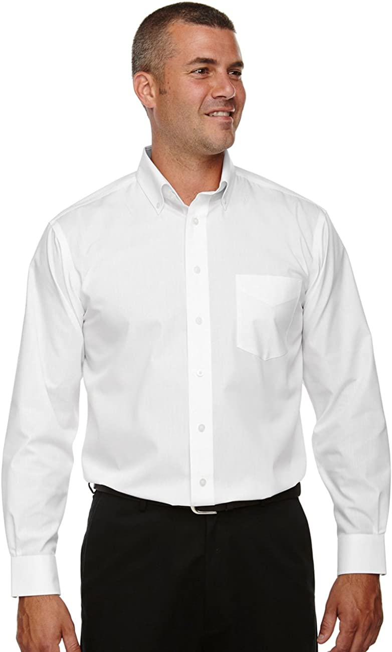 Devon & Jones Mens Tall Crown Collection Solid Broadcloth (D620T)