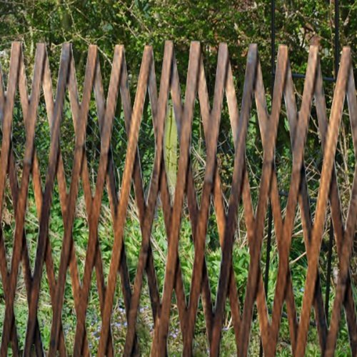 Kingfisher TRELIS3 6 x 3 ft Garden Trellis - Brown