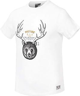 Picture Camisetas de hombre Horns Casual