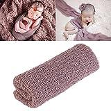 FENICAL Lange Wellen Wrap, DIY neugeborenes Baby Fotografie Wrap-Babyfoto Requisiten Gefälligkeiten...