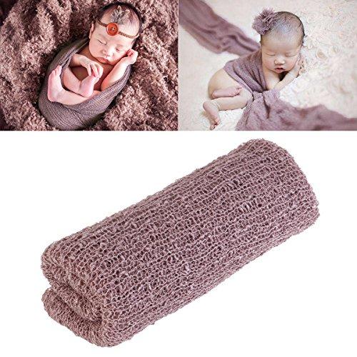 Tinksky Newborn Photography Beckam foto Prop Newborn Photography Props Stretch Wrap (Lilla)