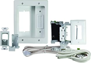 Legrand-On-Q HT22U2WHR6 Concealer Kit, Top, Bottom: White-R6