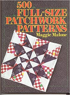 500 full-size patchwork patterns