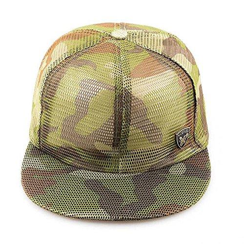 QSCS Asadfd Sombrero de Camuflaje Sombreros de Golf de Verano Sombrero