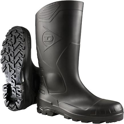 Dunlop Devon Unisex Steel Toe Safety S5 Rubber Wellingtons Boots