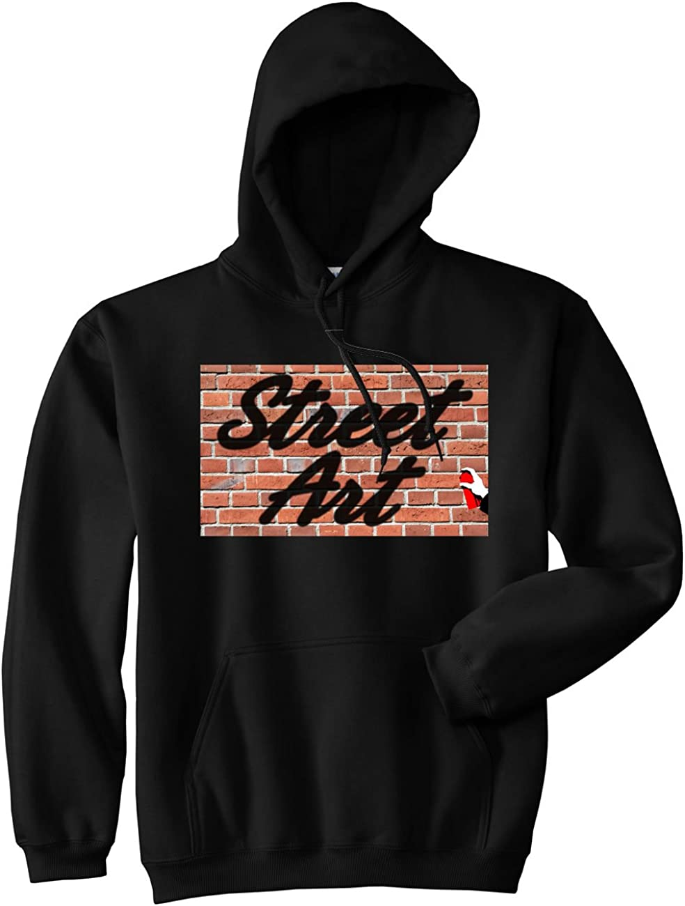 Kings Of NY Street Art Graffiti Spray Can Painting Pullover Hoody Sweatshirt