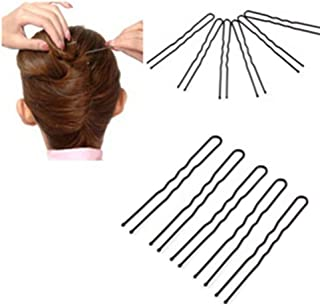 fd76842bf91b potato001 50 Pcs Waved U-shaped Hairclips Bobby Pin Barrette Salon Grip Hair  Clip Hairpin