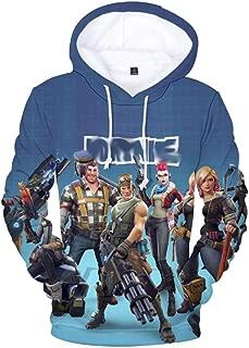 Fnite Sweatshirt Hoodie w/Pocket   3D Print Sublimation Design Pullover