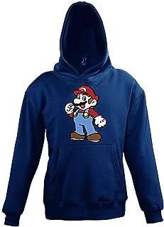 TRVPPY Kinder Hoodie Kapuzenpullover Modell Mario 2