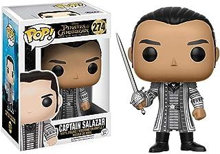 LRWTY Figura Pop!Capitán Salazar de Colección Vinilo Figura Película Masterpiece Figura Coleccionable de Horror 10 cm de Serie Movie Gifts