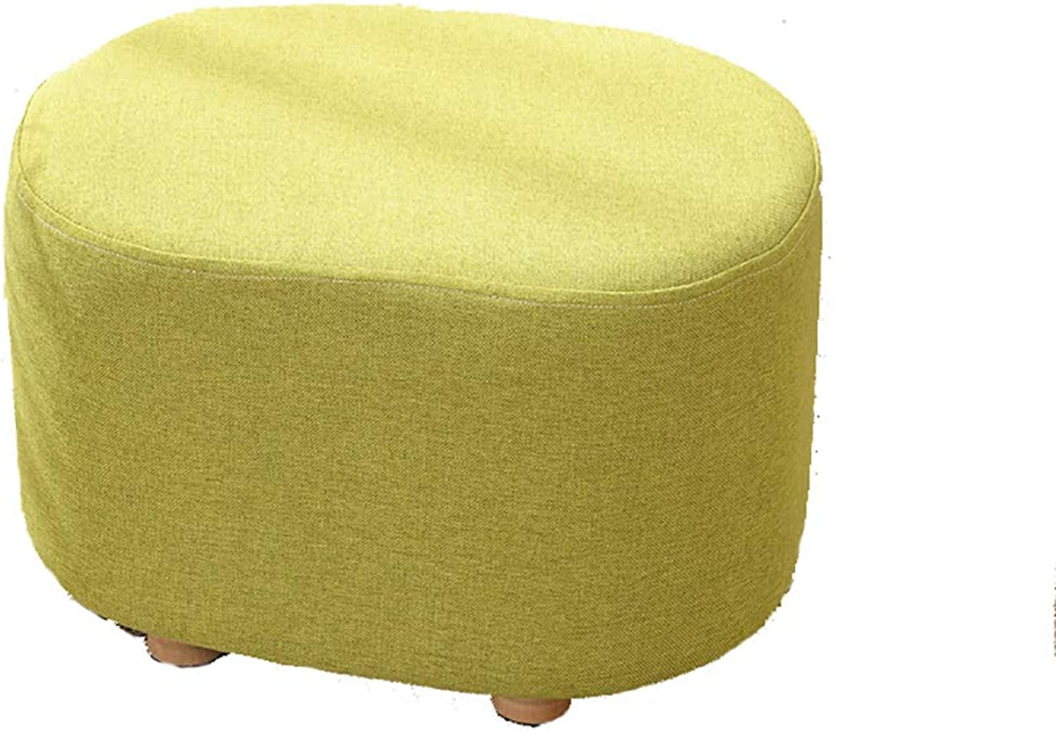 LICCC Low Stool Change shoes Bench Sofa Stool Living Room Entrance Short Stool, 40cm  30cm  27cm (color   Yellow)