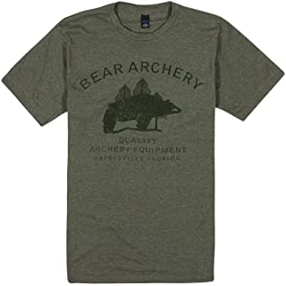 Bear Archery Traditions Tee Shirt (Green) Hunting & Outdoor T Shirt