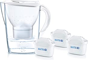 Brita Marella XL MX+ 3 Filtreli Su Arıtmalı Sürahi, Beyaz