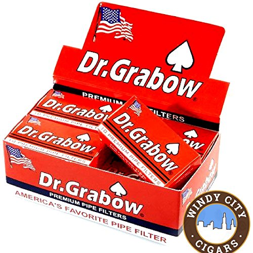 Dr. Grabow Pipe Filters - 12 Boxes of 10 Filters