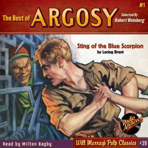 The Best of Argosy #1 - Sting of the Blue Scorpion audiobook cover art