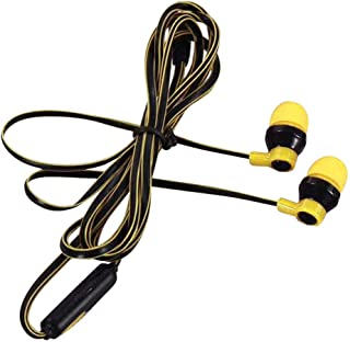 Huphoon 3.5mm with Microphone Bass Stereo in-Ear 1.2M Earphones Headset Earbuds Compatible with Cellphone