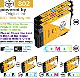 Repackaged Unused 802 Ink Cartridges, with Original Ink Inside, NOT Third-Party Ink (3 Color, C M Y)