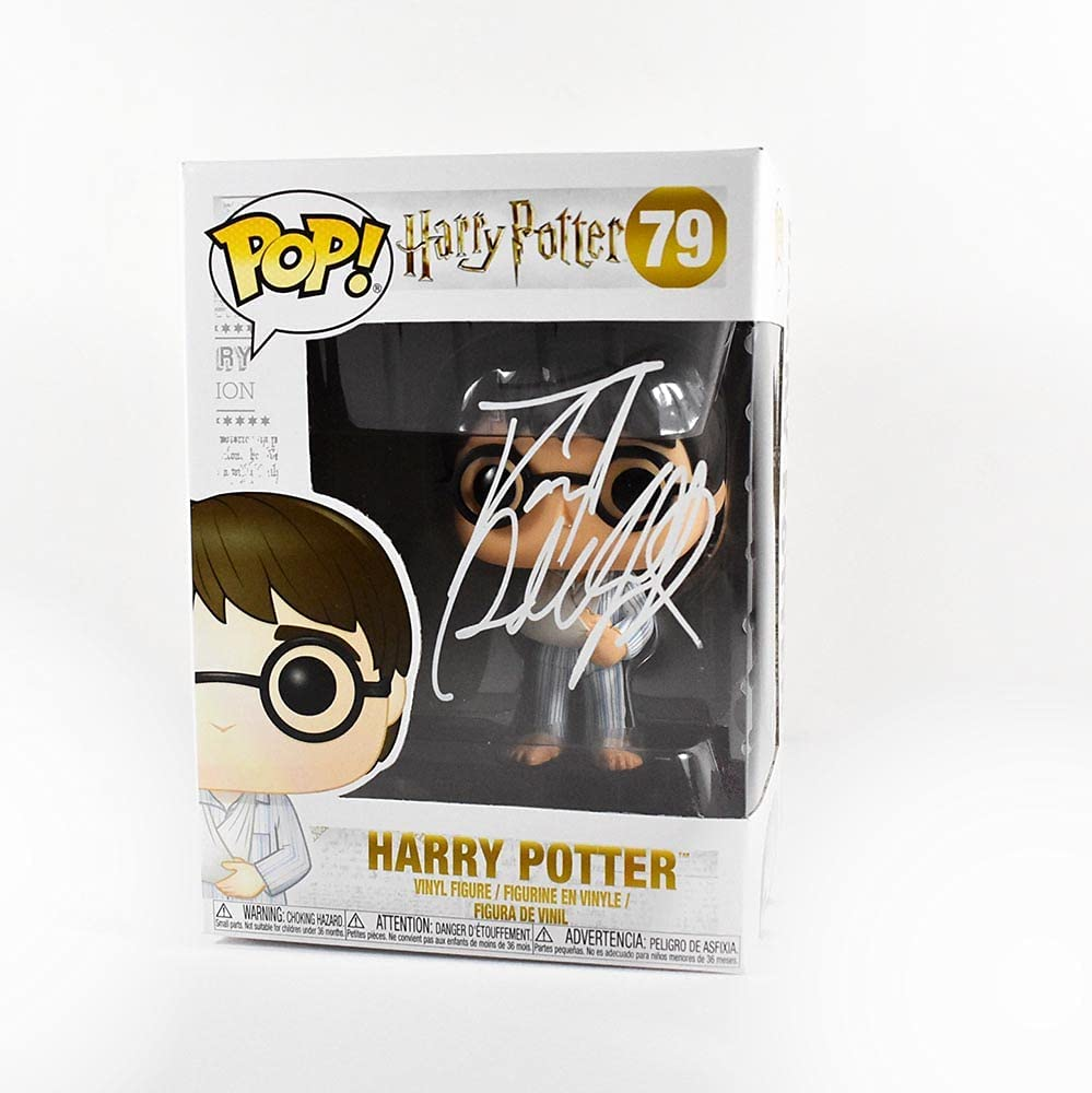 Daniel High material Radcliffe Recommended Harry Potter 79 Signed Auth Certified Funko Pop
