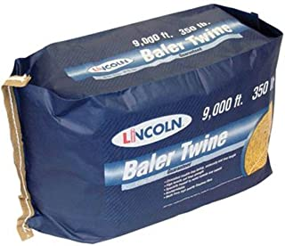 Sisal Baler Knotless Twine - Insect and Rodents Resistance - Holds 350 lb 9000' Long