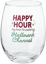 Hallmark Channel Happy Hour Stemless Wine Glass, 12 oz. Wine Glasses Hobbies & Interests; Movies & TV