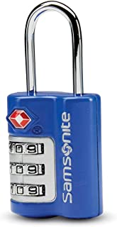 Samsonite Travel Sentry 3-dial Combination Lock, Blue Fantasy, One Size