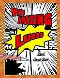 The Amazing Lucas: Pop Comic Blank Writing Book