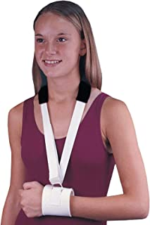 Rolyan Universal Collar and Cuff Sling, Immobilizer Fixed Position Brace with Secure Buckle Closure, Ergonomic Adjustable Padding and Strap for Customized Fit, Shoulder Support for Arm Suspension