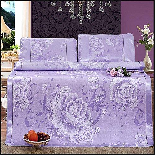 YXWzd Cool sheets IJszegellakens Zomer met lakens Stuur twee kussenslopen Niet gemakkelijk te rimpelen Bedding 1,5/1,8 m (5/6 ft) bed