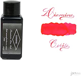 Diamine 30 ml Bottle Fountain Pen Ink, Cerise