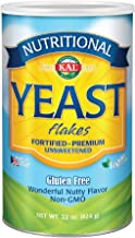 KAL Nutritional Yeast Flakes   Vitamin B12, Vegan, Non-GMO, Gluten Free   Unsweetened, Great Flavor, No Bitter Aftertaste   Great For Cooking   22 oz
