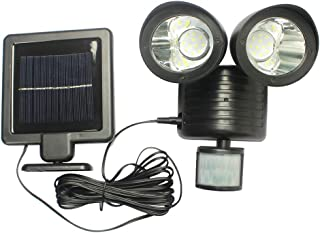 Crazystore 22Led Solar Powered Pir Motion Sensor Security Light Outdoor Garden Lamp